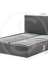Seconique Waverley Storage Bed Brown - Double