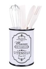 Besp-Oak Paris Maison Utensil Holder With 4 Utensils