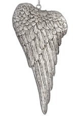 Hill Interiors Silver Wing Hanging Ornament