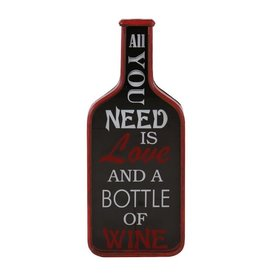 Besp-Oak Vintage All You Need Is Wine Sign