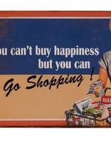 Besp-Oak Go Shopping Sign