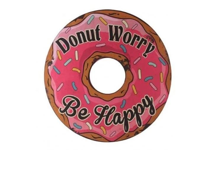 Besp-Oak Iron Donut Worry Sign