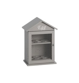 Hill Interiors Grey Egg Cabinet
