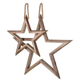 Set of Two Hanging Stars