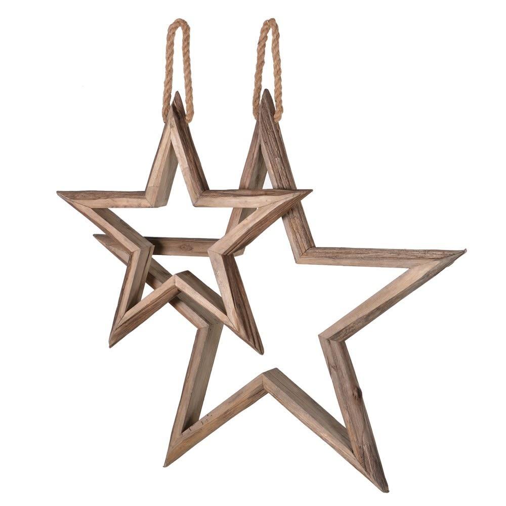 Set of Two Hanging Stars