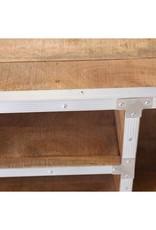 Besp-Oak Industrial Style Afrojack Coffee Table