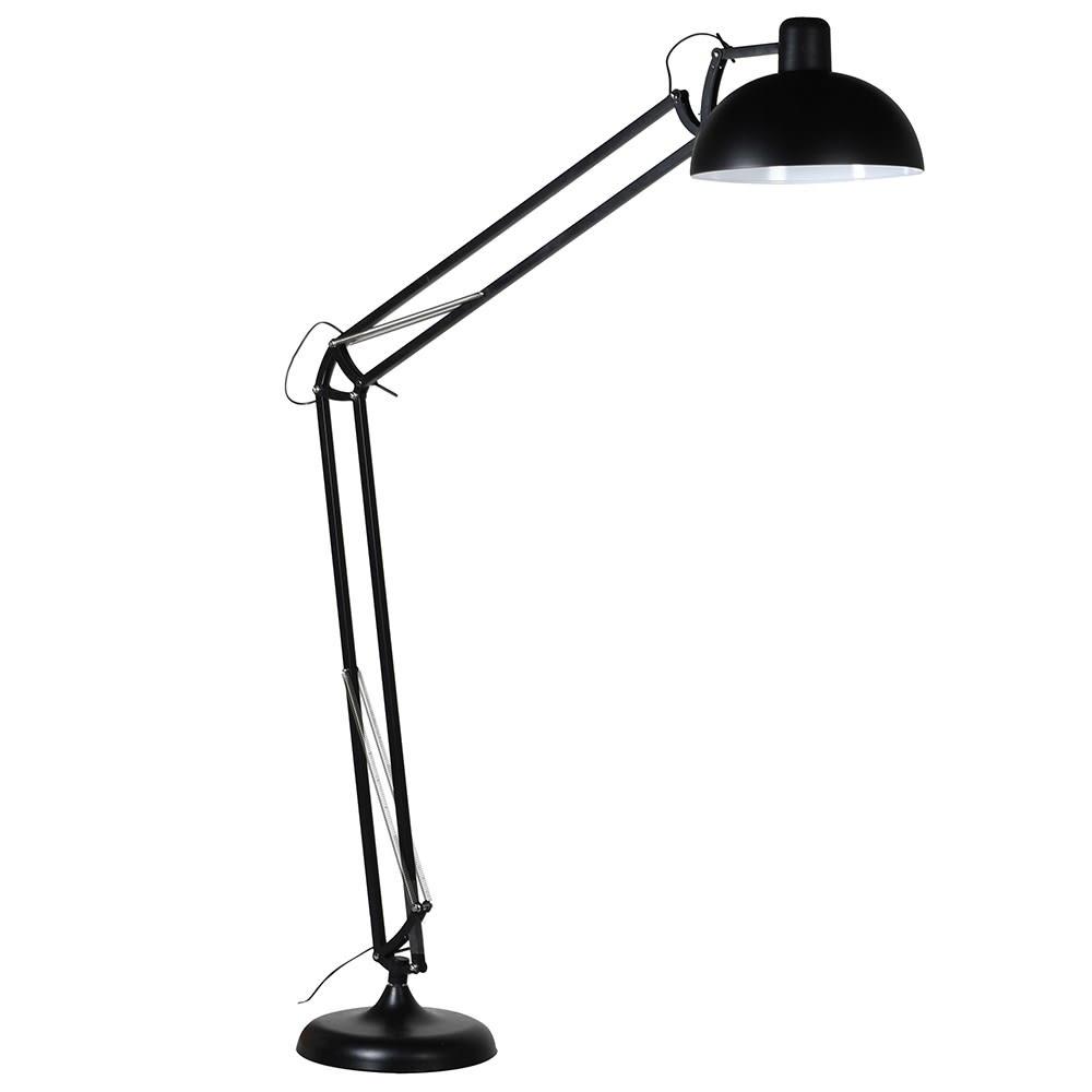 Matt Black Angle Floor Lamp