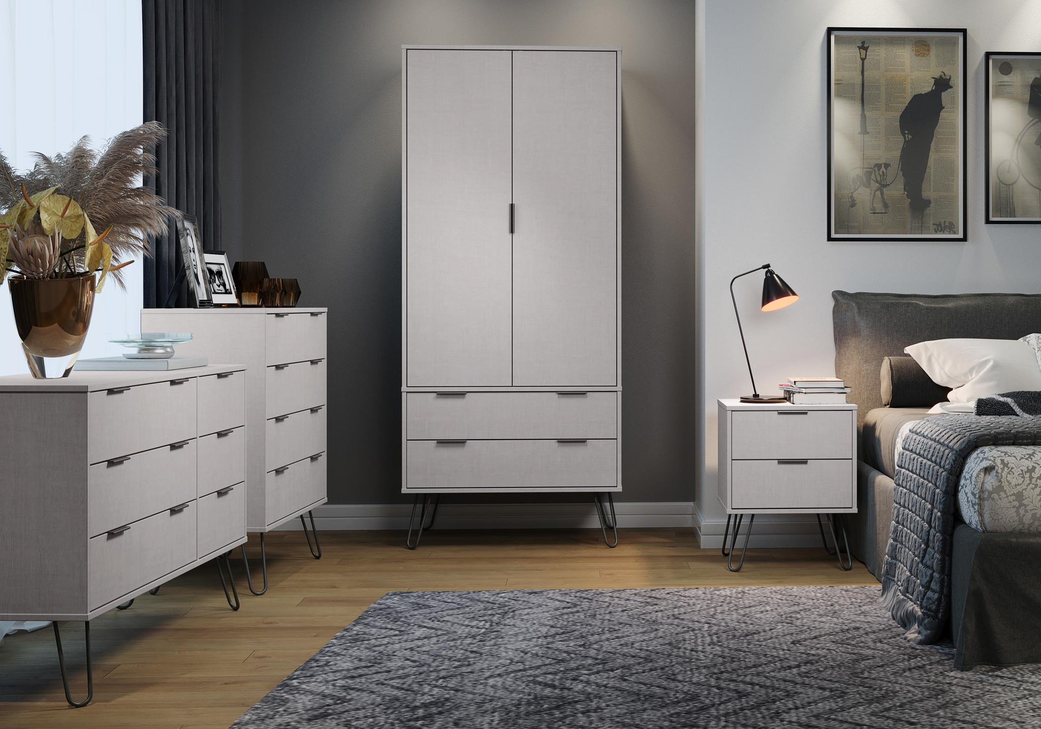 Blend Grey Bedside