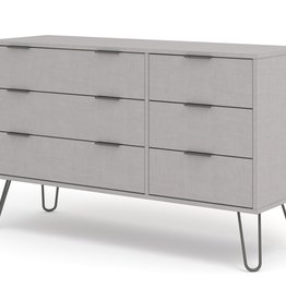 Blend Grey 3+3 Drawer Chest