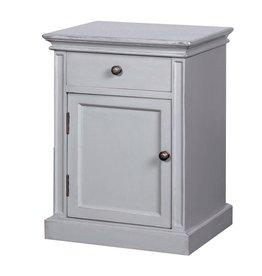 Grey Fayence Pot Cupboard