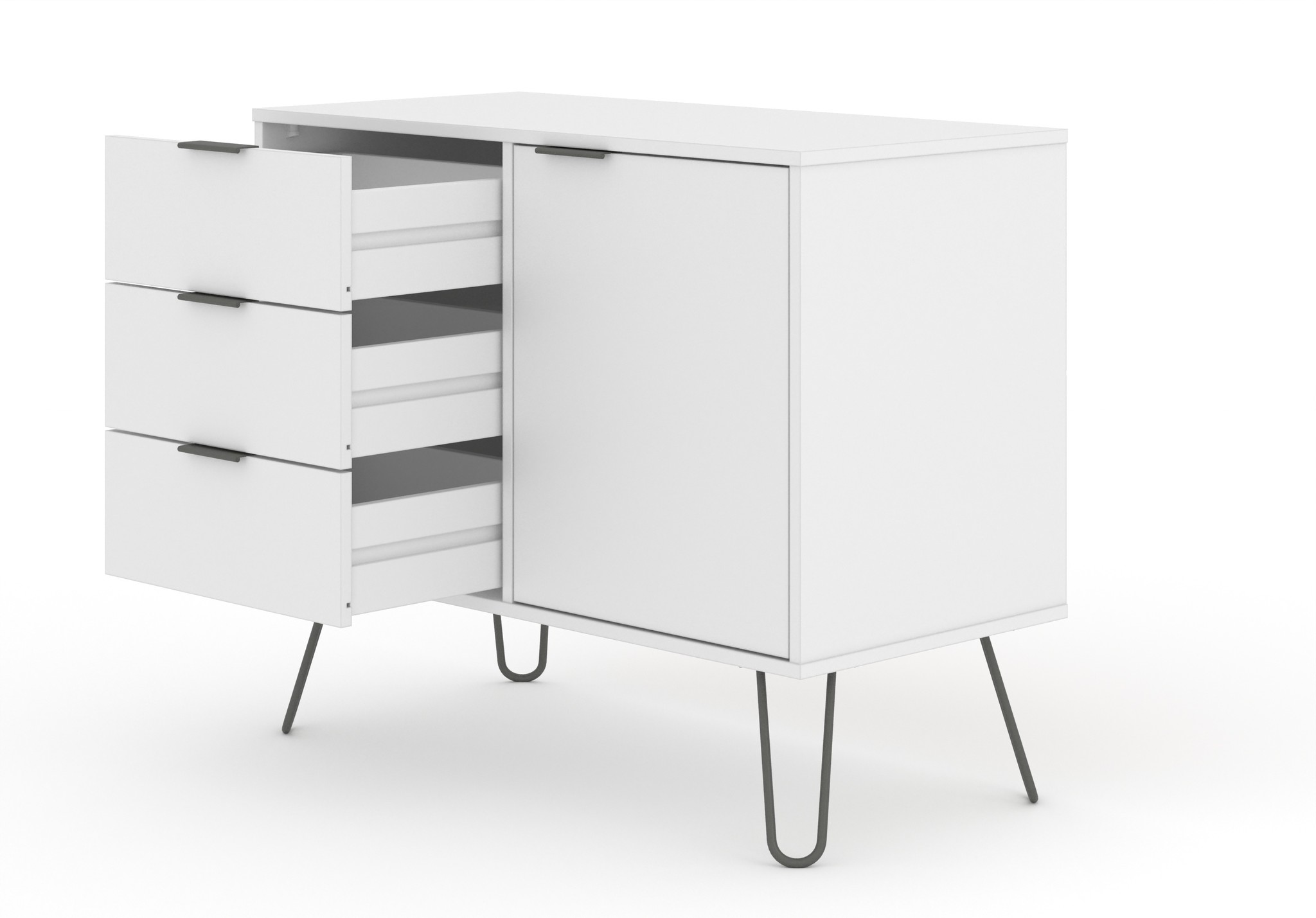 Blend White Small Sideboard