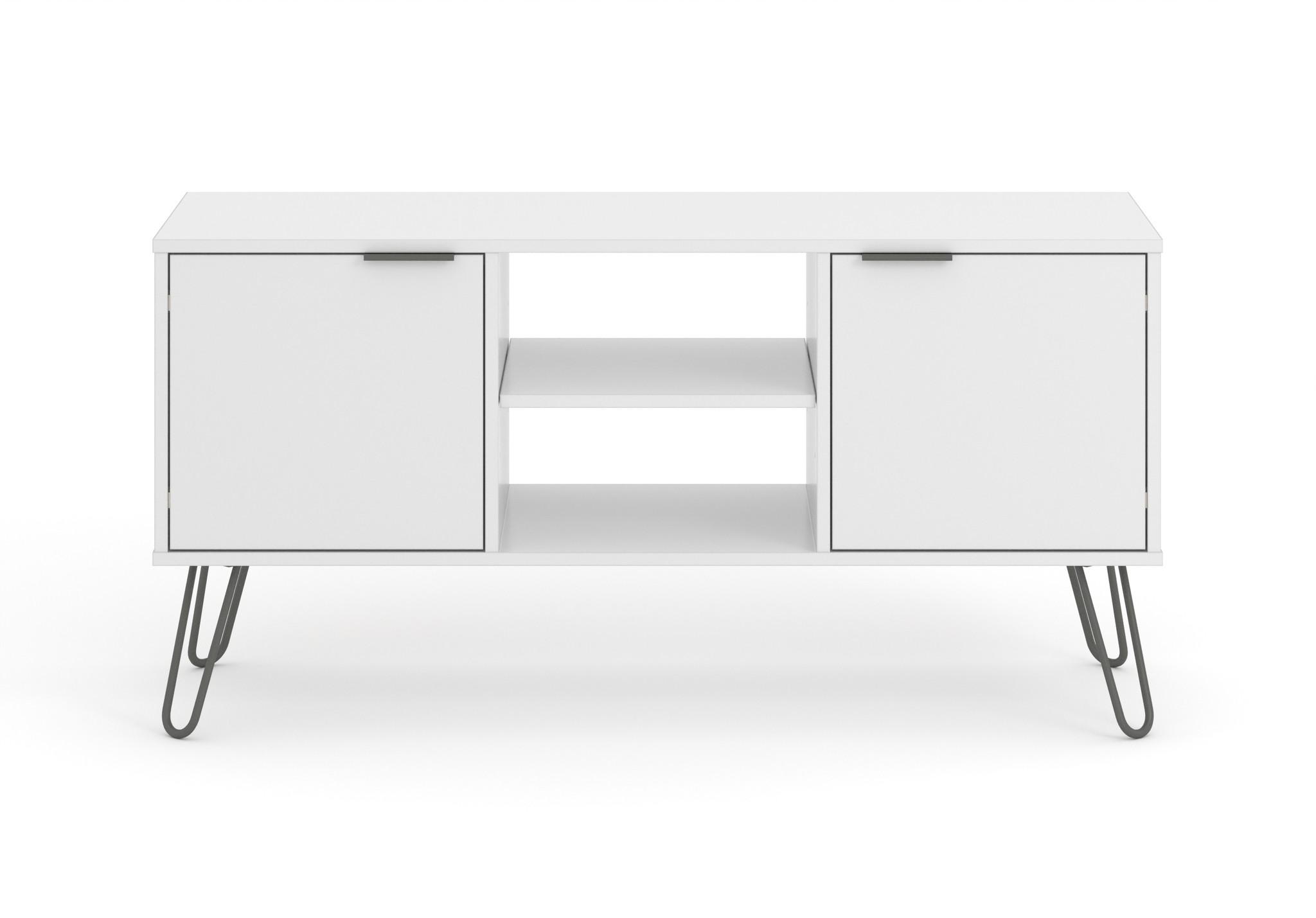 Blend White Flat Screen TV Unit