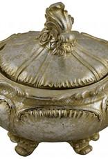 Gold Handled Trinket Jar
