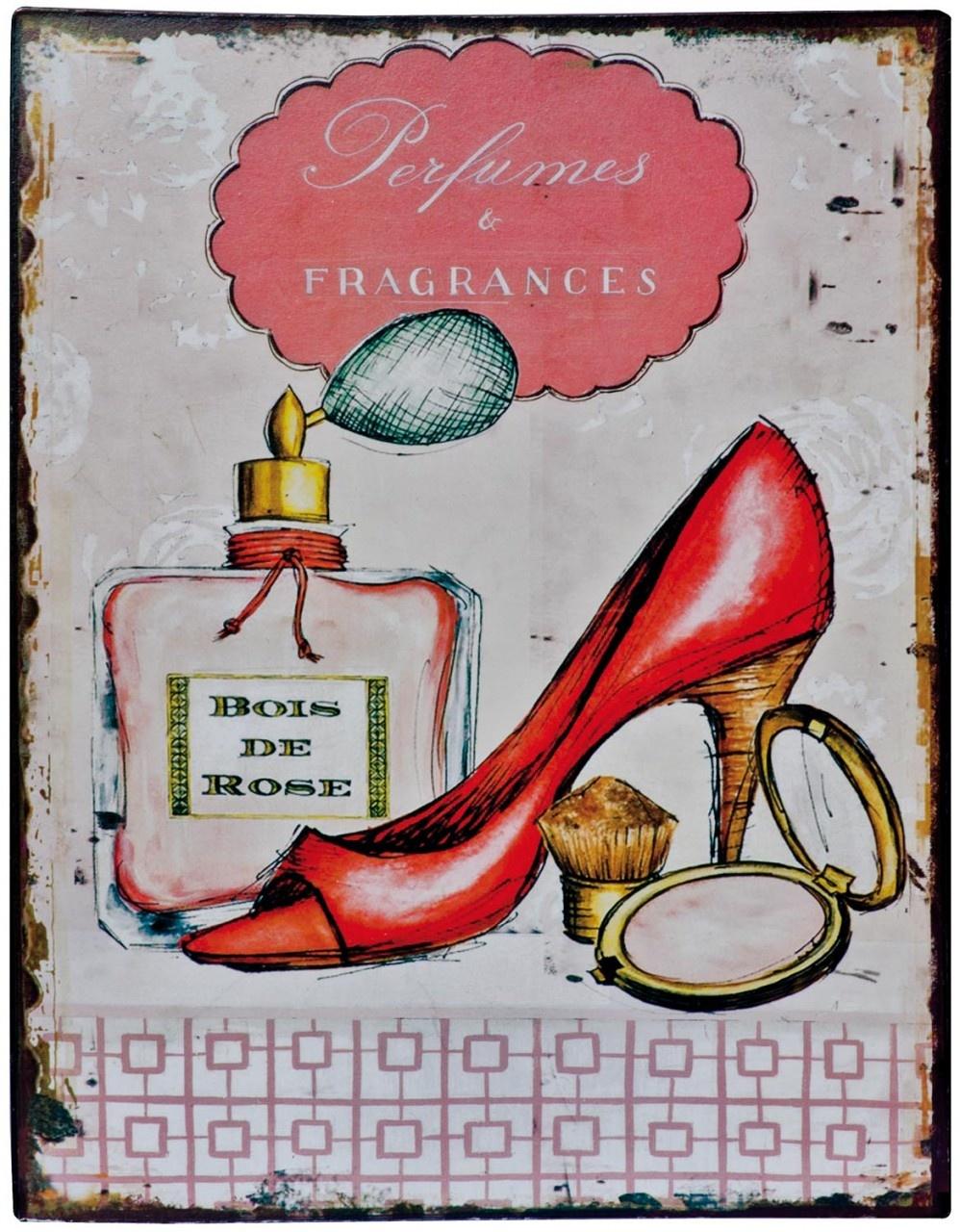 Shoe Phew Tin Wall Plaque