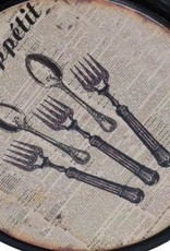 Bon Appetit Metal Wall Hook