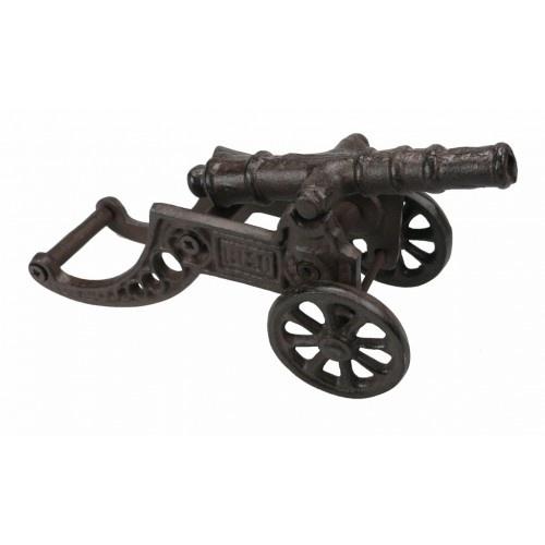 Metal Ornament Small Cannon