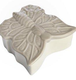 Hill Interiors Small Butterfly Design Trinket Box