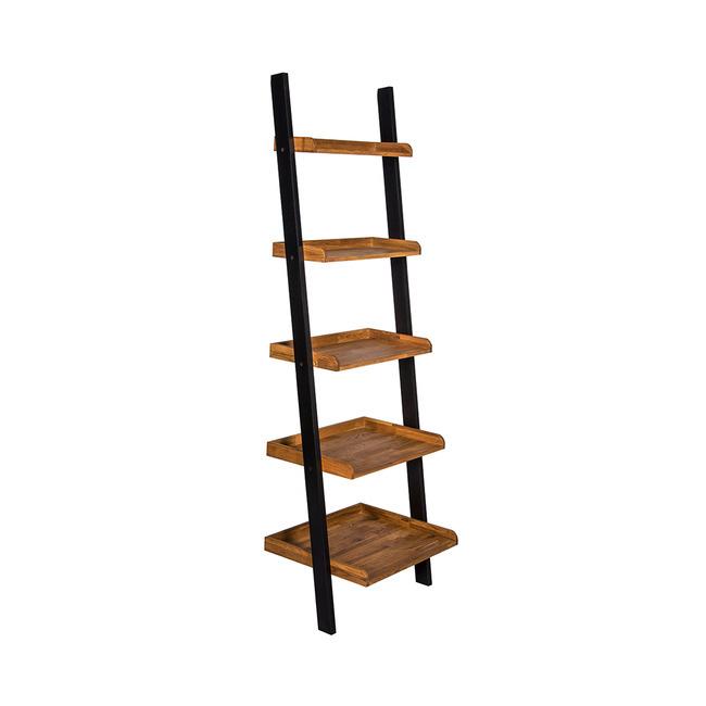 Industrial Ladder Shelf