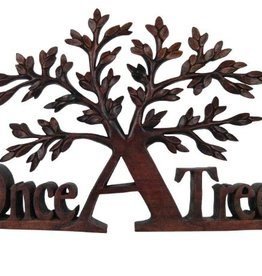 Once a Tree Wooden Art