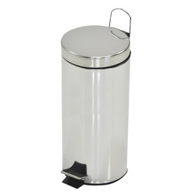 Kingfisher 30L Stainless Steel Pedal Bin