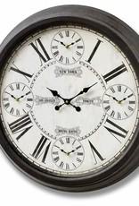 Hill Interiors World Times Clock