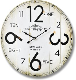 Hill Interiors Time Telegraph Company Wall Clock