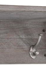 Besp-Oak Forge Iron & Weathered Oak Coat Rack