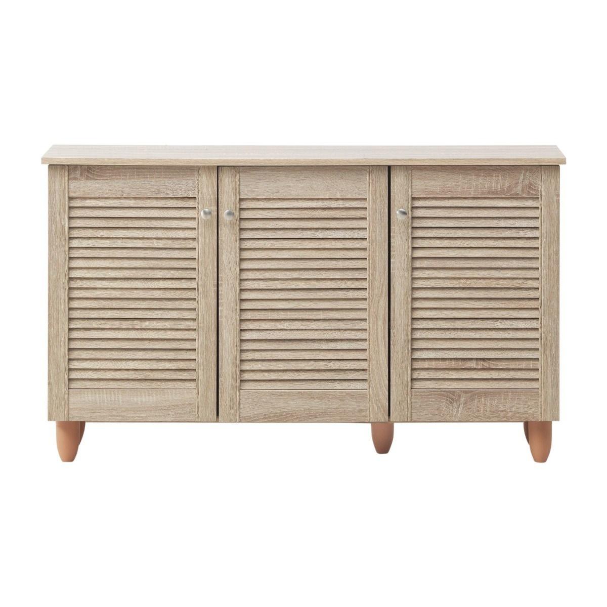 3 Door Shoe Cabinet - Sonoma Oak