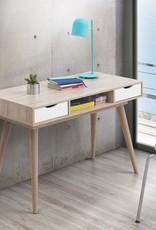 Scandinavian 2 Drawer Desk