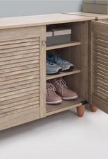 2 Door Shoe Cabinet - Sonoma Oak
