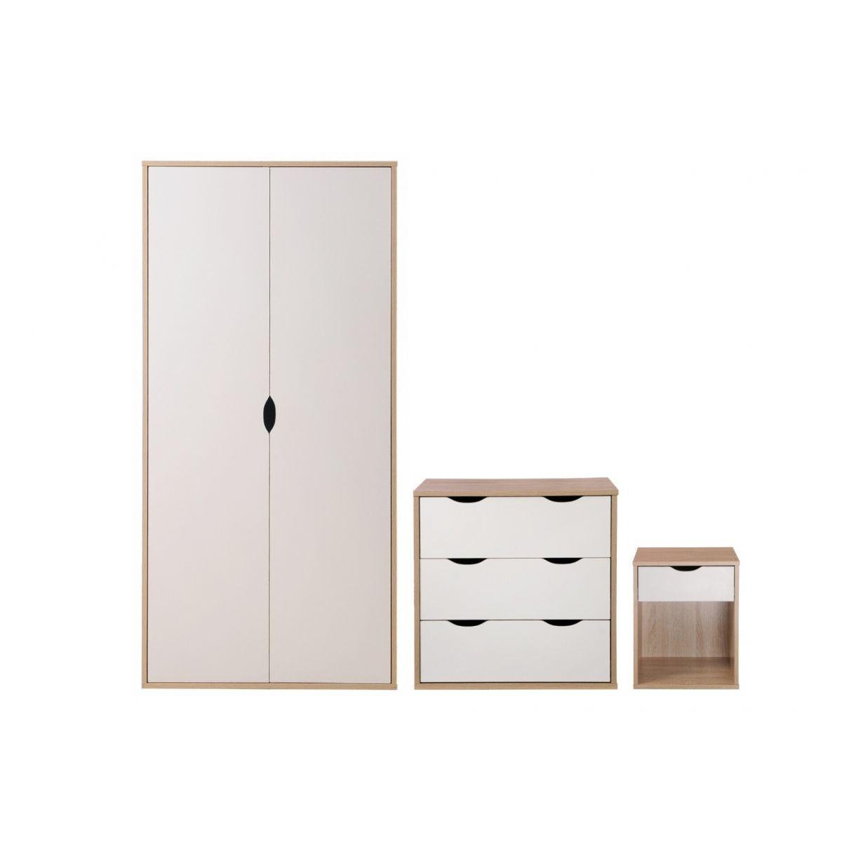 Alton Trio Bedroom Set- White