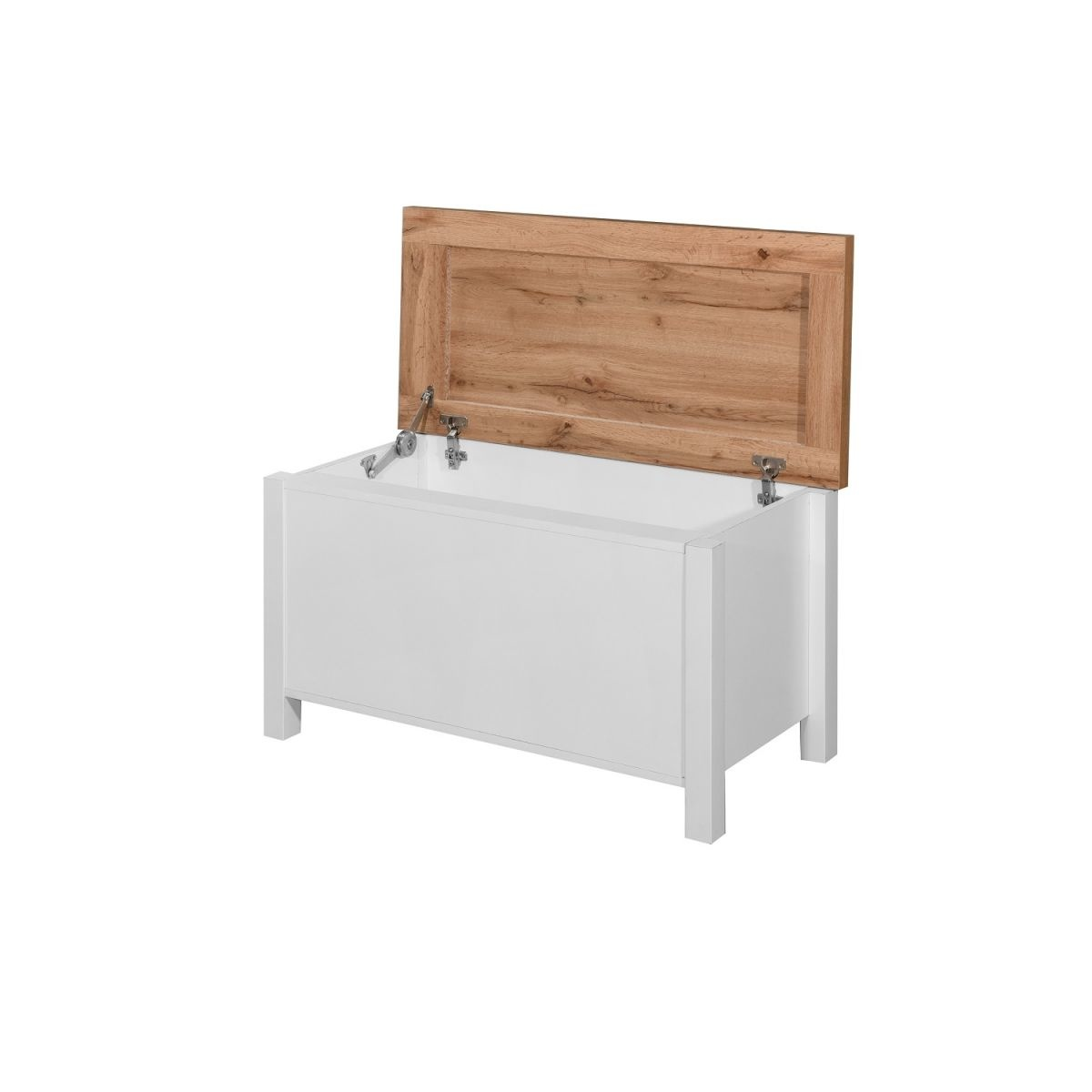 White Blanket Box