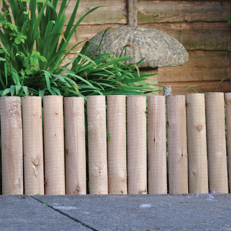 Kingfisher Log Roll Garden Edging 30cm (12in)