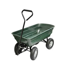 Kingfisher 4 Wheel Tipping Action Garden Cart