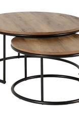 Round Coffee Table Set