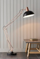 Gallery Marshall Floor Lamp Bronze & Black