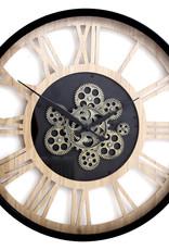 Moving Gear Clock