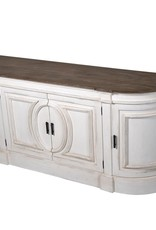 Nordic Gustavian Rounded Sideboard