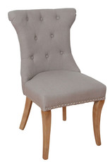 Rochelle Fabric Bedroom Chair With Knocker