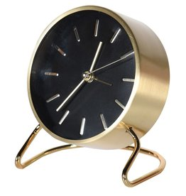 Black & Gold Alarm Clock