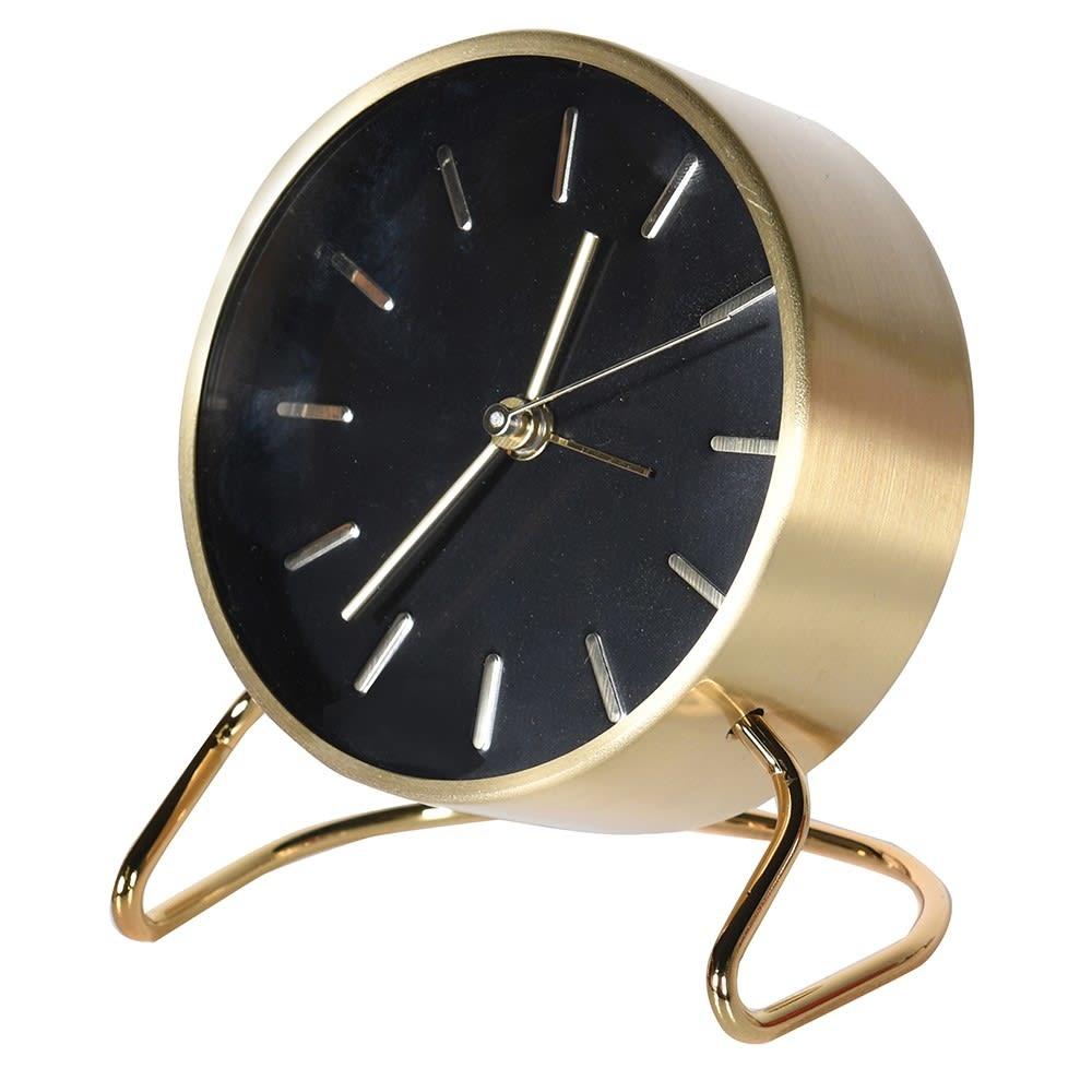 Black & Gold Alarm Clock