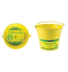 Chatsworth Citronella Metal Bucket Candle- Set of 2