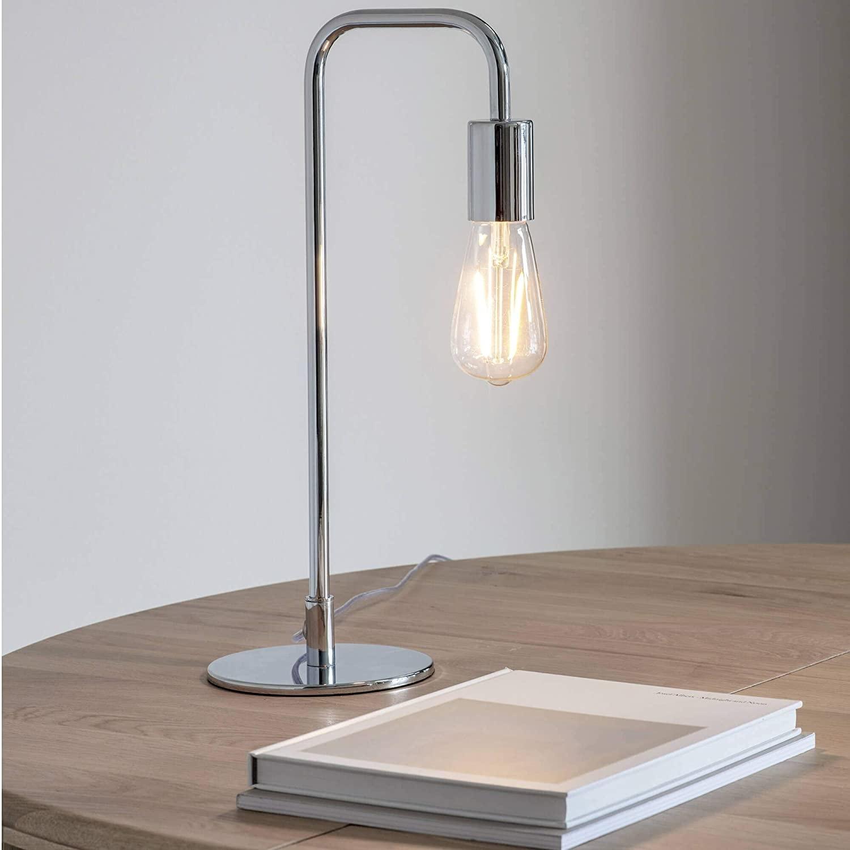 Gallery Rubens Table Lamp Chrome