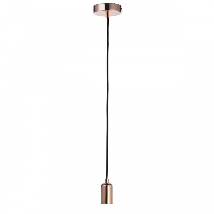 Endon Studio Pendant Light - Copper