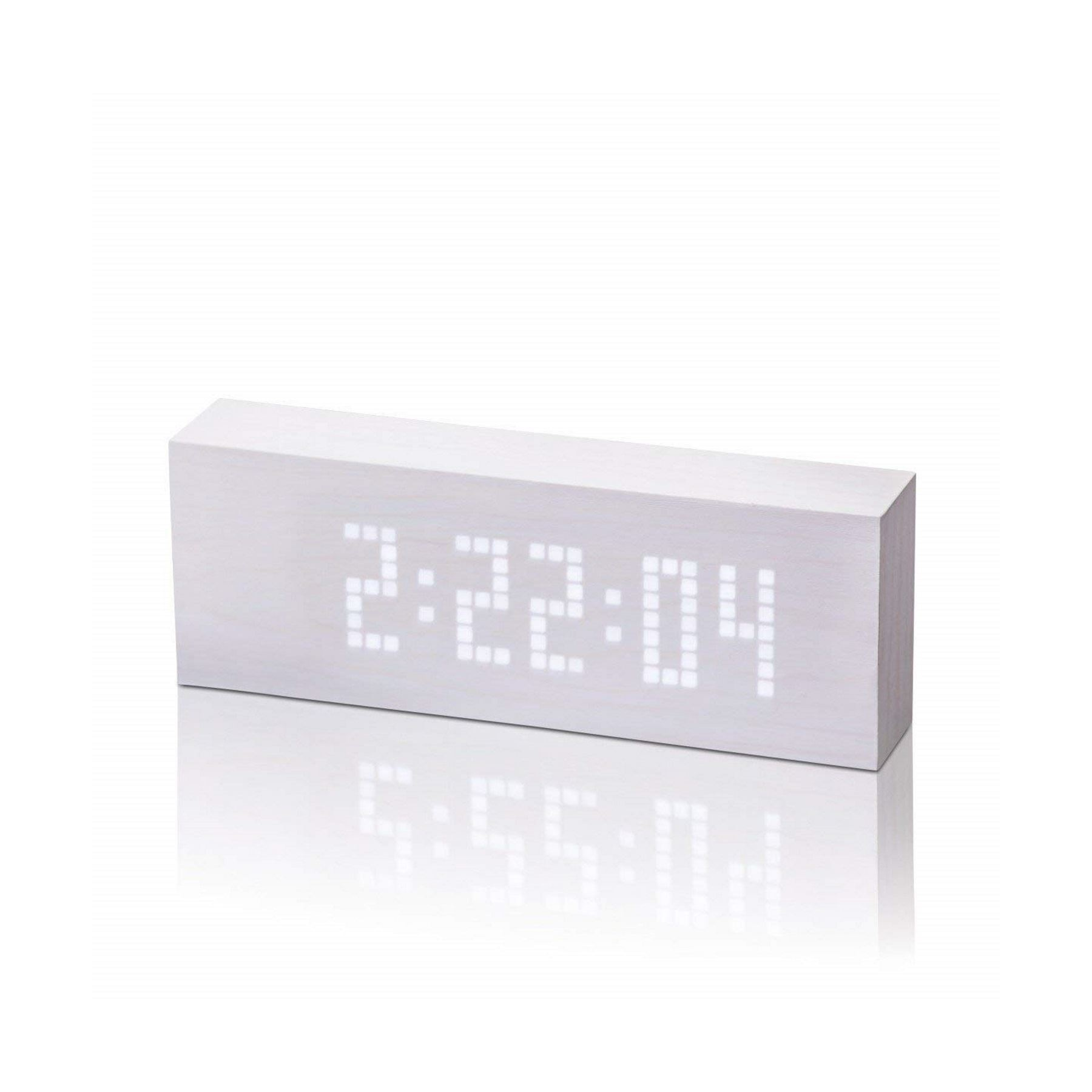 Gingko Message Click Clock - Sound Activated