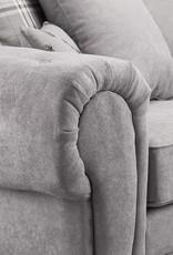 Large Corner Sofa In Grey