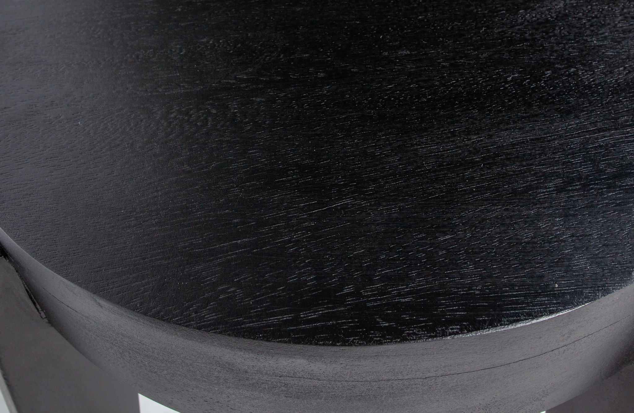 WOOOD Inca Black Wooden Stool