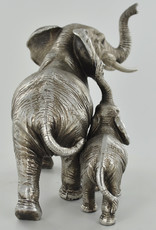 Mother & Baby Elephant Ornament