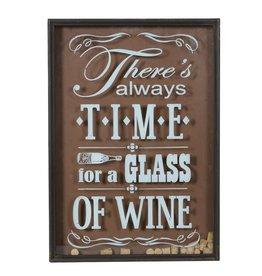 Time For Wine - Cork Deposit Sign