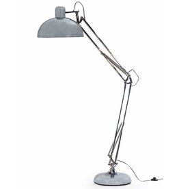 Chrome Extra Large Classic Desk Style Floor Lamp